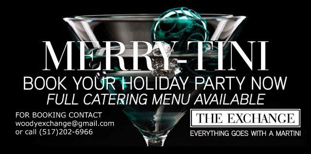 Lansing Exchange Merry-Tini Holiday Party Reservations
