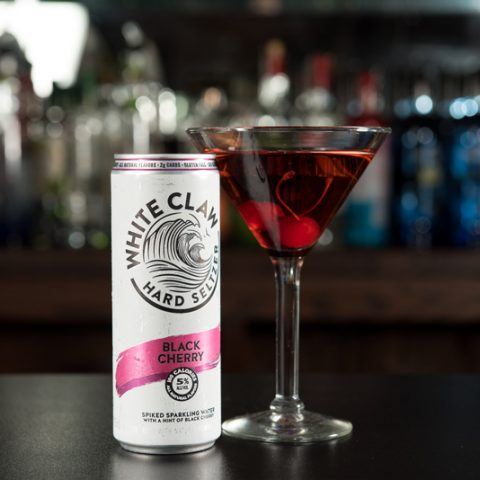 2019 The Exchange White Clawtinis Cherry With Can